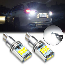 2x Canbus LED Reverse Backup Light Bulb T15 912 921 Extremely Bright White 6000K