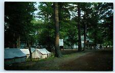 Camp Mahaffey Christian Camp Tents UA 119 Pennsylvania PA Vintage Postcard B29