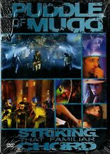 "Puddle of Mudd - "" Striking That Familiar Chord "" - DVD-NEW & SEALED-FREE UK P&P"