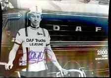 PATRICK PEVENAGE Team DAF TRUCKS LEJEUNE Signed Autographe cycling dédicace vélo