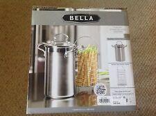 NIB Bella, 3 Quart Stainless Steel Asparagus Pot and Steamer