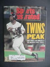 Sports Illustrated October 21, 1991 Kirby Puckett Twins MLB De La Hoya Oct '91 E