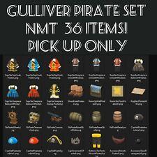 Animal Crossing:New Horizons Gulliver Pirate Item Full Set + NMT