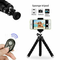 Universal Mobile Phone Tripod Stand Grip Holder Mount For Camera iPhone Samsung