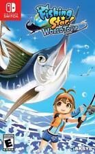 Fishing Star: World Tour [Nintendo Switch Sports Aksys Games 180 Fish] NEW
