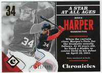 2017 Panini Chronicles Baseball Gold Parallel /999 #1 Bryce Harper Nationals