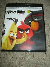 The Angry Birds Movie (Blu Ray 3D, 4K Ultra HD Blu-ray)