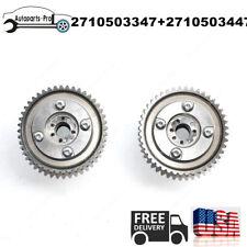 For Mercedes SLK250 W204 C250 PAIR Camshaft Adjuster Actuators (Exhaust+Intake)