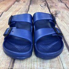 Unbranded Slide Sport Sandals Women Size 7 Slip On Sandals - Blue -