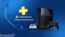 PlayStation PS Plus PS4 PS3 Vita 14-Day Membership Account US Seller!