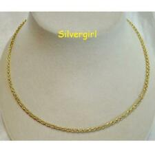 """16"""", 18"""" or 20"""" Gold Plated Twist Rope Chains"""