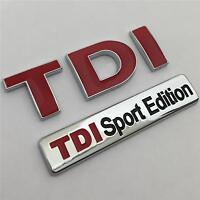 TDI SPORT EDITION Badge Emblem NEW For VW GOLF POLO LUPO PASSAT EOS TRANSPORTER