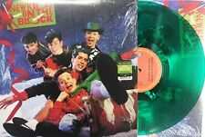 NEW KIDS ON THE BLOCK LP Merry Merry Christmas GREEN Vinyl 1000 Made ! SEALED