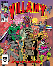 Villainy: Devise Dastardly Deeds Board Game From Mayfair Games