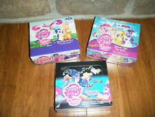 MY LITTLE PONY CARDS MAGIC PACKS BOX LOT X 3 FACTORY FOIL BRONY SERIES 1,2 & 3