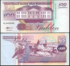 Suriname 100 Gulden, 1998, P-139b, UNC