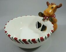 Harry and David Reindeer Candy Dish/Bowl - Christmas Holiday