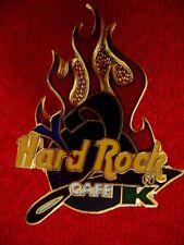 HRC hard rock cafe Online y2k Logo Millenium 2000 Flames