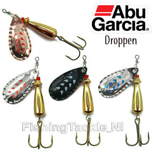 Abu Garcia Droppen Spinner Lure Trout Fishing 8g - 12g All Colours Freshwater