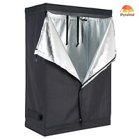 "600D Indoor 48""x24""x72"" Grow Tent Room Reflective Mylar Hydroponic Non Toxic Hut"