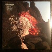 goldfrapp SILVER EYE clear vinyl lp + rare postcard set sold out oop NEW SEALED