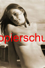 Frau Nackt Akt Erotik Brüste Po Foto XXVI POSTKARTE 10,5 x 14,8 cm SEPIA