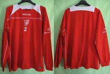Maillot NANCY Porté n°2 entrainement ASNL Baliston vintage Jersey Rouge - XL
