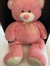 "LARGE JUMBO XL PINK HUGFUN TEDDY BEAR PLUSH 42"""