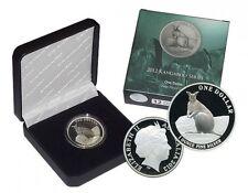 2012 1 oz Silver Australian Kangaroo Proof Coin Australia MAREEBA ROCK WALLABY