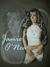 JAMIE O'NEAL SHIVER T SHIRT Country Pop Concert Tour 2000 Midriff Sexy LG
