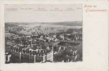 TURKEY CONSTANTINOPLE PANORAMIC DESCRIPTIVE VIEW N° 218 FRUCHTERMANN