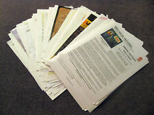 Collectable CD Release Press Kits - One Sheets - Over 100 (2013)