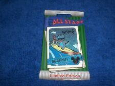 Disney Parks 2020 Trading Cards All Stars Lilo & Stitch Stitch Surfing Le Pin