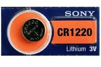 1 X PILA BOTON SONY BATERIA CR1220 DE LITIO 3V LITHIUM BATTERY