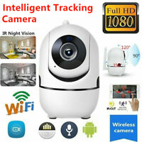 Wireless WiFi 1080P Smart Home Security System Camera Night Vision Baby Monitor
