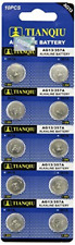 50 x Ag13/Lr44/A76 Alkaline button cell battery New