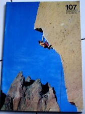107 Mountain Magazine  rock climbing alpine mountaineering
