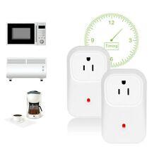 2 Pack WiFi Smart Plug APP Remote Control Timer Outlet Wireless Socket US Plug