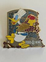 Donald Chip And Dale 2018 WDW Epcot Food And Wine Festival LE Disney Pin
