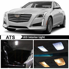 18x White Interior LED Lights Package Kit for 2013-2015 Cadillac ATS