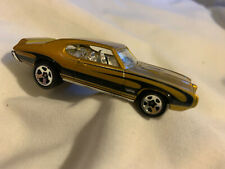 HOT WHEELS '67 PONTIAC GTO Mattel Die-Cast Gold Car 1:64 1996