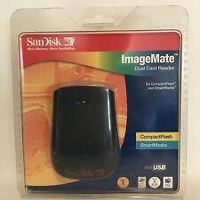 SanDisk SDDR-75-07 SmartMedia USB Combo ImageMate Dual Card Reader NIB
