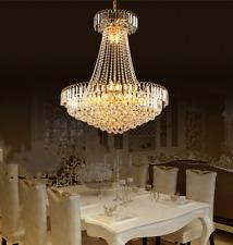Modern Luxury K9 Crystal Chandelier Home Decor Ceiling Lighting Pendant Fixtures