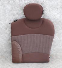 BMW Mini Clubman R55 Trasero Izquierdo N/S Paño Cuero Respaldo Asiento Caliente