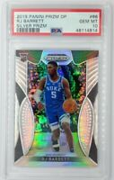 2019-20 Panini Draft Picks Silver Prizm RJ Barrett Rookie RC #66, Graded PSA 10