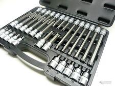 SWV 6149006  Torx T Profil Steckschlüssel Biteinsätze Nüsse im Koffer 32tlg