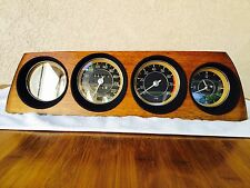 BMW E9 3.0Cs Csi 2800 Fuel Metric Euro Gauges Speedometer Tachometer Clock Dash