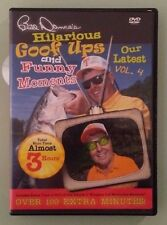 bill dance's  HILARIOUS GOOF UPS AND FUNNY MOMENTS volume 4 DVD genuine region 1
