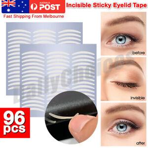 96pcs Eyelid Tape Adhesive Eye Lift Strips Stickers Double AU POST