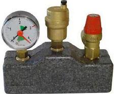 Sicherheitsgruppe für Öl Heizung / Heizkessel bis 50 KW